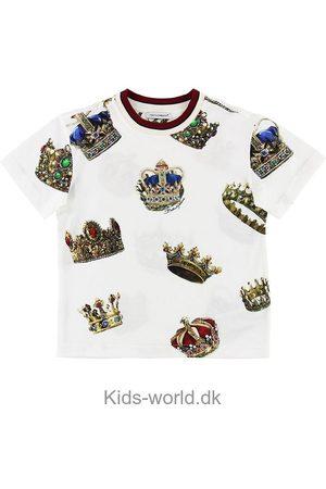 Dolce & Gabbana Kortærmede - T-shirt - m. Kroner