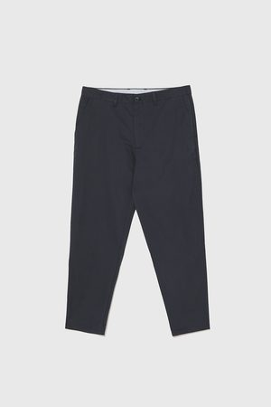 Zara LOOSE FIT TROUSERS WITH BELT