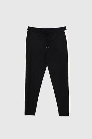 Zara Joggingbukser med stribe i siden