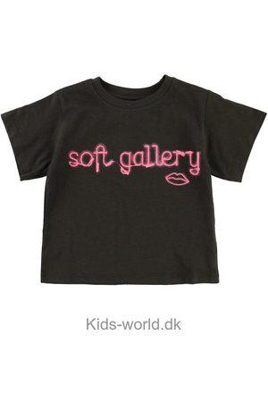 Soft Gallery Kortærmede - T-shirt - Dominique - Neon lips