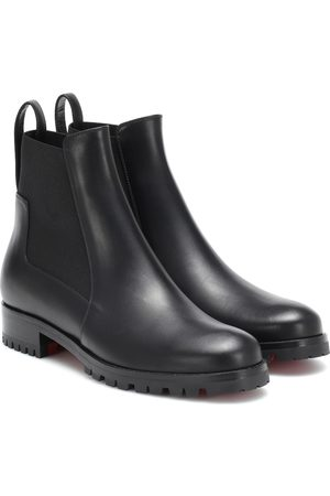 Christian Louboutin Marchacroche leather ankle boots
