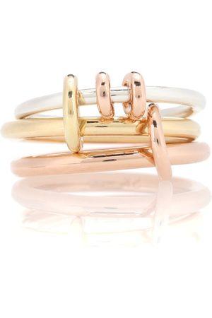 SPINELLI KILCOLLIN Kvinder Ringe - Raneth 18kt gold, 18kt rose gold and sterling silver ring