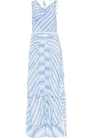 Altuzarra Kvinder Maxikjoler - Gaeta striped silk dress