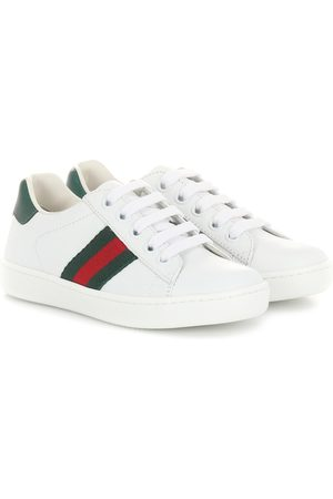 Gucci Sneakers - Ace leather sneakers