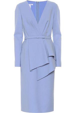 Oscar de la Renta Kvinder Bodycon kjoler - Stretch-wool dress