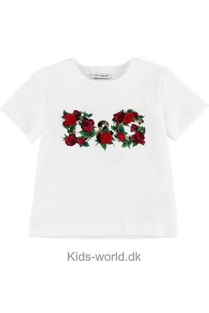 Dolce & Gabbana T-shirt - m. Blomster
