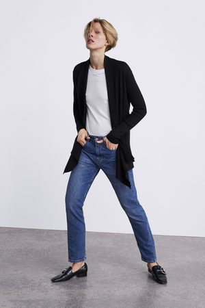 Zara Asymmetrisk, oversize cardigan