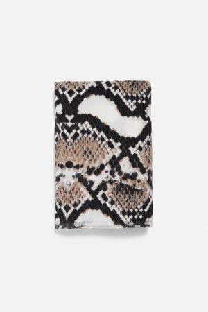 Zara Tørklæde med animal print