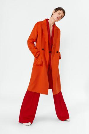 Zara Neonfarvet, maskulin frakke
