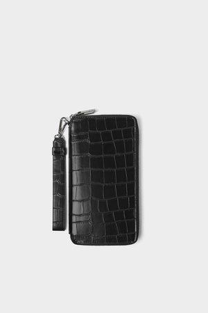 Zara Xl-pung med krokrodilleskindsprægning