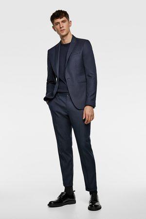 Zara Afkortede, strukturvævede habitbukser