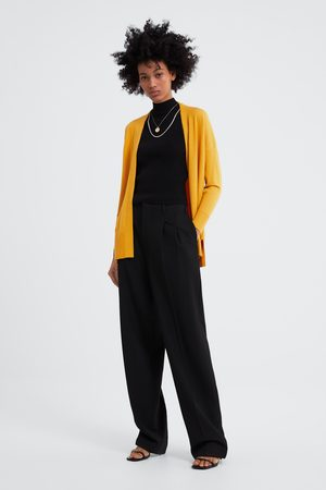 Zara Cardigan i strik med slidser