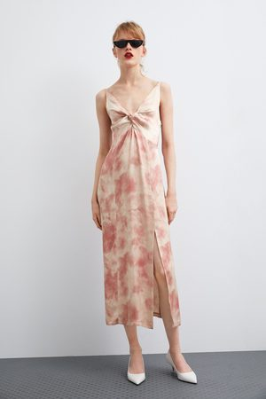bc7d3f4e3687 Kvinder Zara Online Priser Sammenlign Sommer Kjoler Køb Og Tøj wqr7wOxE