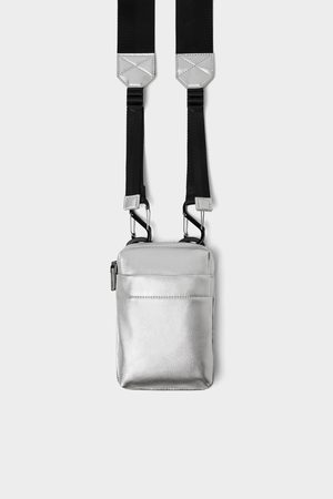 Zara Mini skuldertaske med to karabinlåse