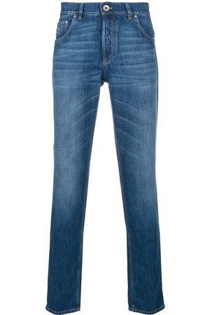 Brunello Cucinelli Mænd Slim - Jeans med smal pasform