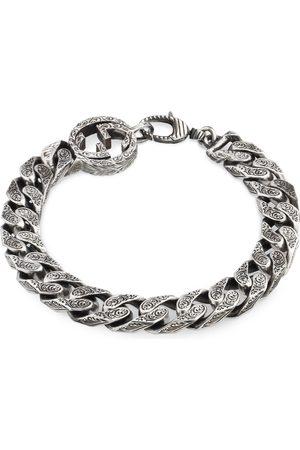 Gucci Armbånd - Interlocking G chain bracelet in silver