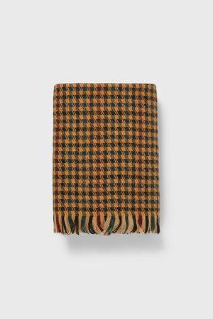 Zara Hundetandsmønstret halstørklæde