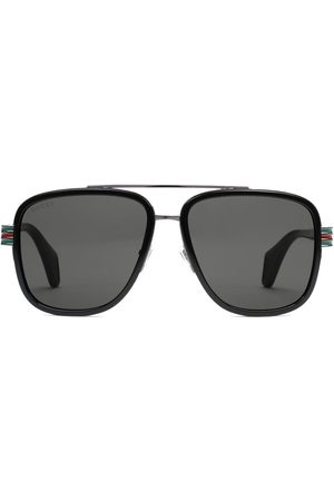 Gucci Mænd Solbriller - Aviator solbriller