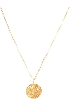Alighieri The Unspoken Trust 24kt gold-plated necklace