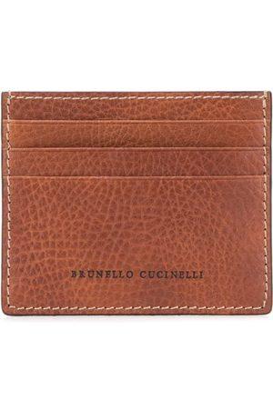 Brunello Cucinelli Kortholder med præget logo