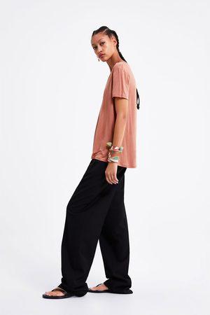 Zara Basic t-shirt i lyocell
