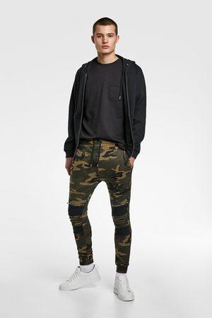 Zara Joggingbukser med camouflage print