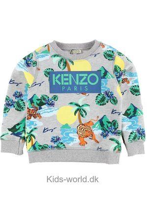 Kenzo Sweatshirts - Sweatshirt - Finley - Gråmeleret m. Tigere