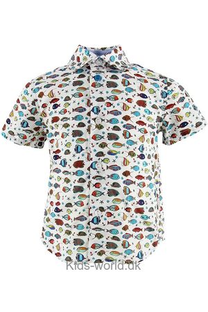 Paul Smith Drenge Langærmede - Baby Skjorte - Tarik - m. Fisk