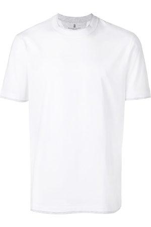 Brunello Cucinelli T-shirt med rund hals