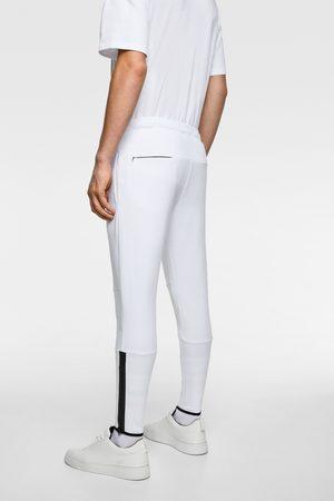 Zara Joggingbukser med lynlås