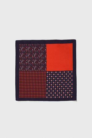 Zara Kontrastfarvet lommetørklæde