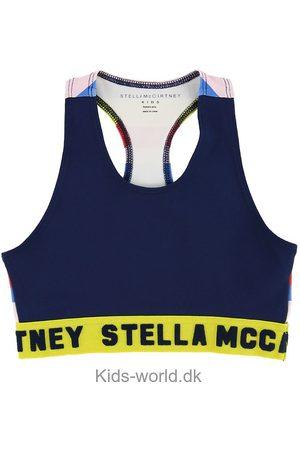 Stella McCartney Piger Toppe - Sportstop - Navy m. Striber