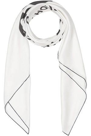 Burberry Stort firkantet tørklæde i silke med Horseferry-tryk