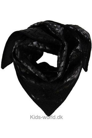LALA BERLIN Tørklæde - Triangle Neo Black Foil S - Nero