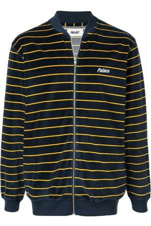 PALACE Sweatshirt i velour med lynlås