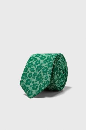 Zara Smalt slips med blomstermønster