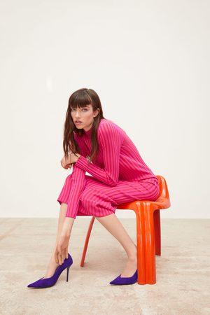 Zara Tofarvet kjole i strik