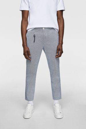 Zara Oxfordbukser i strukturstof