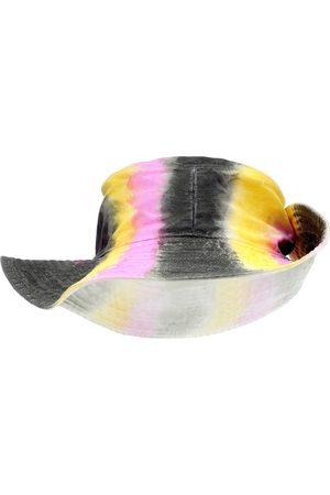 Ganni Kvinder Hatte - Tie-dye denim hat