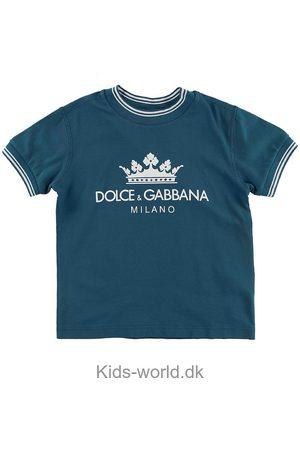Dolce & Gabbana Kortærmede - T-shirt - m. Logo