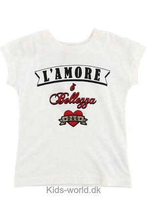 Dolce & Gabbana Kortærmede - T-shirt - m. Tekst