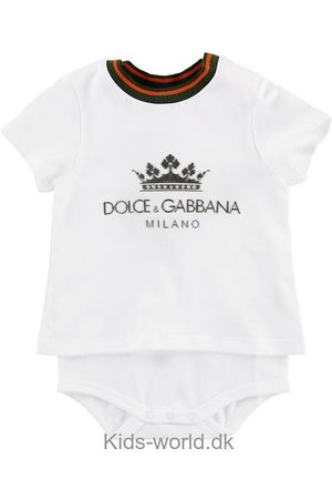 Dolce & Gabbana Sparkedragter - Body k/æ - m. Logo