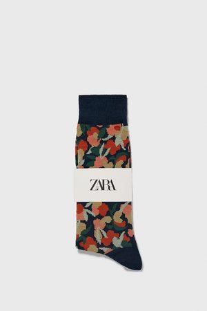 Zara Jacquardvævede strømper