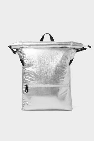 Zara Sølvfarvet rygsæk