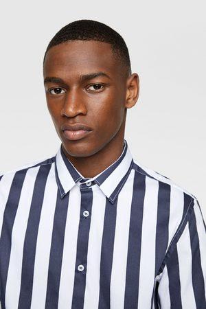 Zara Stretch skjorte med striber