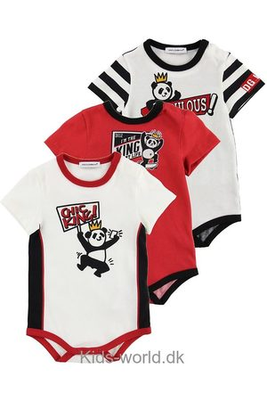 Dolce & Gabbana Body k/æ - 3-pak - / m. Panda