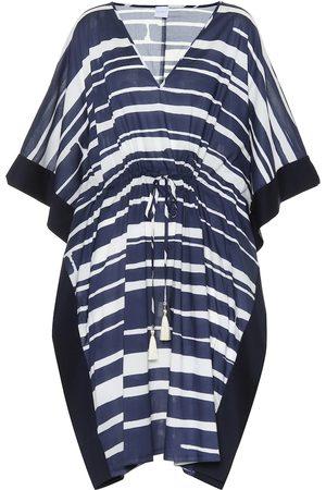 Max Mara Kvinder Kimonos - Gioiosa striped cotton kaftan