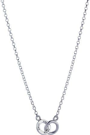 Efva Attling Kvinder Halskæder - Mini Twosome Necklace Accessories Jewellery Necklaces Dainty Necklaces