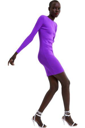Zara Cut-out-kjole i strik