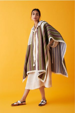 Zara Kappe med frynser fra studio - limited edition
